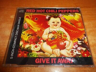 RED HOT CHILI PEPPERS Give it away CD MAXI SINGLE 1991 ALEMANIA 3 TEMAS