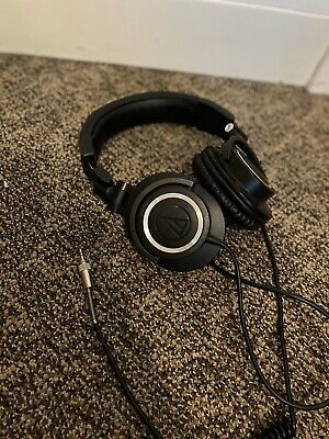 Audio-Technica ATH-M50X Professional On The Ear Headphones - Black