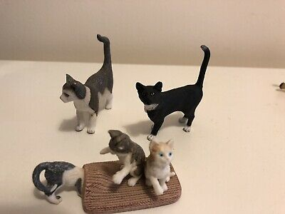 schleich Cats Job Lot