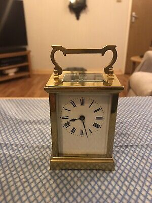 Stunning Brass  Small Carriage Clock