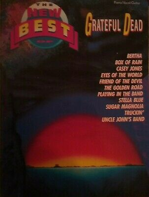 The New Best Of Grateful Dead (Piano/Vocal/Guitar)