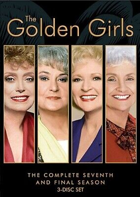 GOLDEN GIRLS COMPLETE SEVENTH SEASON 7 Sealed New 3 DVD Set