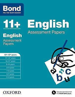 Bond 11+: English: Assessment Papers: 12+-13+ years by Wendy Wren, Bond (Paperb…