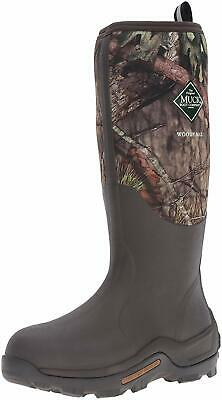 Muck Boot Woody Max Rubber Insulated Men's Hunting Boot, Mossy Oak, Size 10.0 cD
