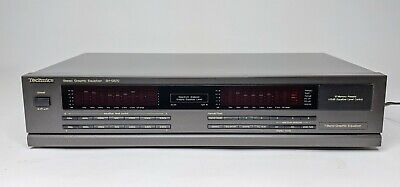 Technics Stereo Graphic Equalizer SH-GS70 EQ Spectrum Analyzer - Tested