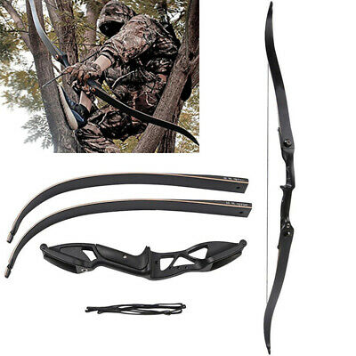 4DD7 Black Shooting Set Archery Sport Recurve Hunting Recurve Bow
