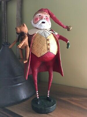 Christmas Cheer by Lori Mitchell . ESC Company/Collectible Santa Figurine . NOS
