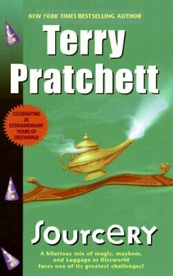 Sourcery (Discworld Novels) by Victor, Gollancz Book The Cheap Fast Free Post
