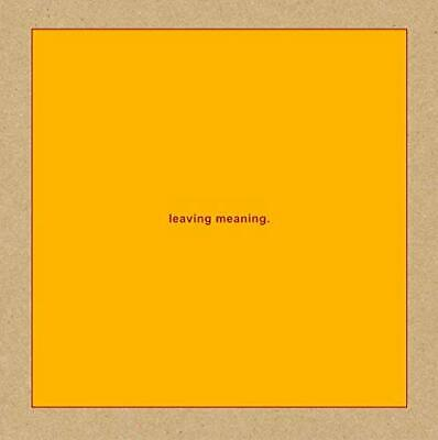 Swans-Leaving Meaning-Import 2 Digipak Cd With Japan Obi G22