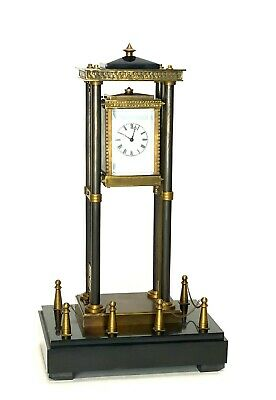 French Style Falling Gravity Driven Bronze Industrial Elevator Industrial Clock