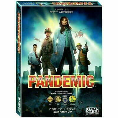 Z-Man Games - Pandemic Board Game Perfect Family Party Game Toys Gift