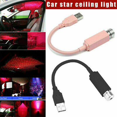 Plug and Play-Car and Home Ceiling Romantic USB Night Light Party Xmas Decor