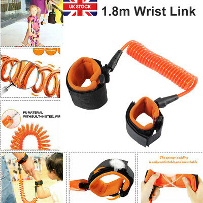 Anti lost Band Safety Link Harness Toddler Child Kid Baby Wrist Belt Strap CR