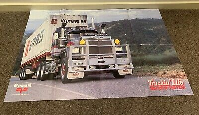 Truckin Life Poster, Rig Of The Year, Mack, Flying Dutchman