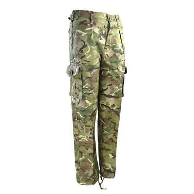 Kids Army Clothing Military Style MTP Camo Trousers Combat Pants