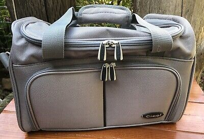 Ciao! Suitcase Duffel Carry-On Travel Bag 15 x 10x 9 Soft Side Weekend Luggage