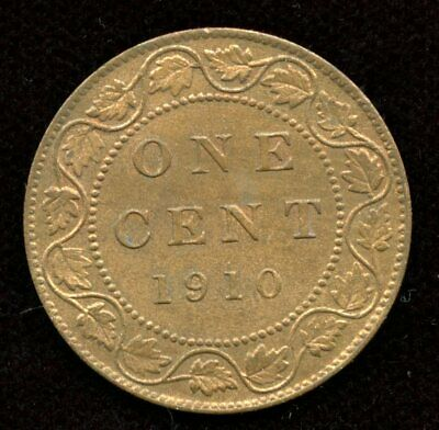 1910 Canada Large One Cent - Nice Mint State Condition