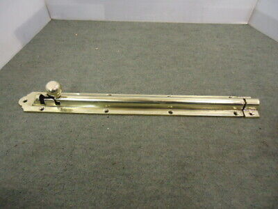 Vintage Brass Extra Long  Draw Bolt & Keep