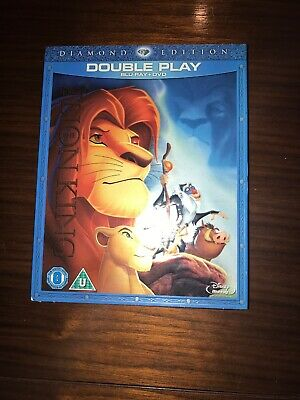 The Lion King - Blu Ray Double Play Diamond Edition With Slip Sealed Blu-ray