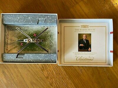 White House Historical Association Christmas Ornament 2019 - Brand New