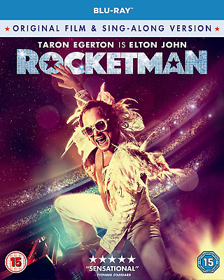 Rocketman Blu-ray [2019] [Region Free]