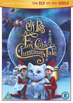 Elf Pets: A Fox Cub's Christmas Tale DVD [2019]
