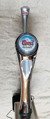 Coors Light Beer Font Tap Handle, Man Cave Home Bar