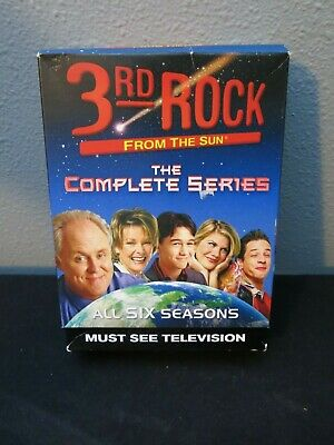3rd Rock from the Sun: The Complete Series (DVD, 2010, 24-Disc Set) Used