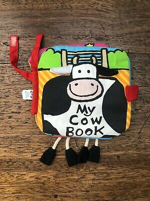 Jelly Kitten - My Cow Book - Baby Fabric Book