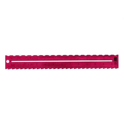 Paper Tearing / Tracing Metal Rulers - Choose Your Style - 30cm Ruler - New