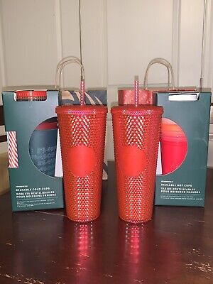 Starbucks Holiday Christmas Reusable Hot/Cold Cups And Tumbler 2019 Collection