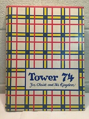 1974 Tower Yearbook Wheaton College