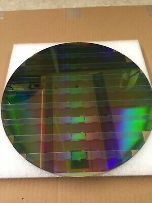 "silicon wafer 12"" copper pattern reclaim"
