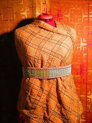 True antique (100+ year-old) South African Xhosa tribe beaded belt