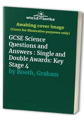 GCSE Science Questions and Answers : Single and Do... by Booth, Graham Paperback