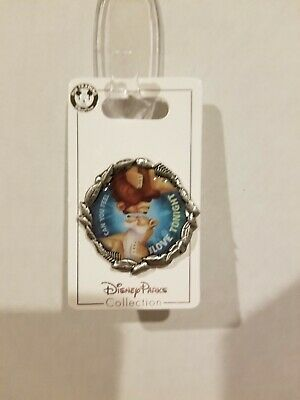 Disney Parks Trading Pin Lion King Simba & Nala Can You Feel The Love Tonight