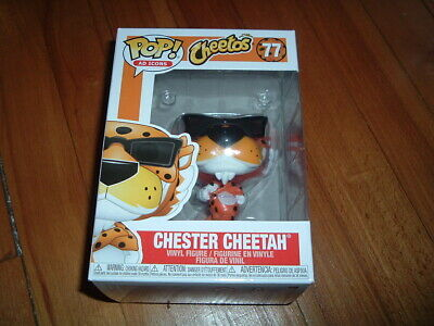 Funko Pop! Chester Cheetah #77~ New~ Mint~ Ad Icons Series~