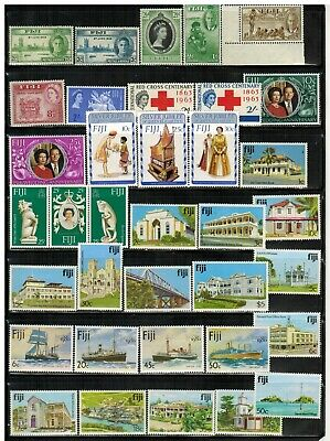 Lot of Fiji Old Stamps MNH