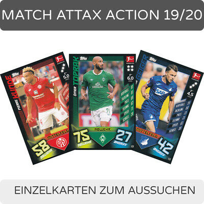 Topps Match Attax - Action - 2019/20 Singles-Pick 406-612 to the Search