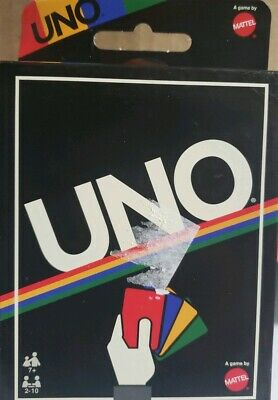 UNO Card Game -Retro Edition- Christmas Gift- Sealed Brand New