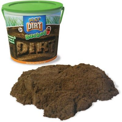 DIRT Bucket-Just Like Kinetic Dirt-Feels just like dirt without the mess!