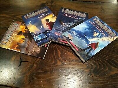 I Survived Near New 4 Book Lot by Lauren Tarshis (2-5 grades)