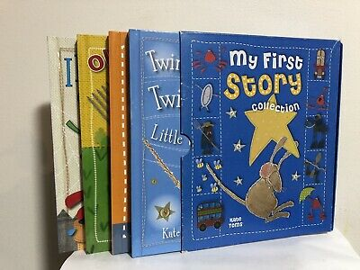My First Story Collection Boxset (2010) by Kate Toms - 4 H/C Childrens Books
