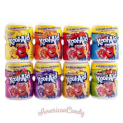 USA: 1x Kool Aid Barrel 538g (Lemonade Cherry, Grape, Tropical, Strawberry Kiwi)
