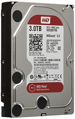 Wd Red Nas Hard Drive Wd30Efrx - Hard Drive - 3 Tb - Internal - 3.5... NEW