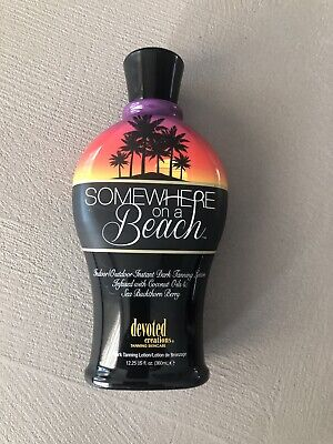 Somewhere on a Beach Tanning Lotion 360ml - Devoted Creations