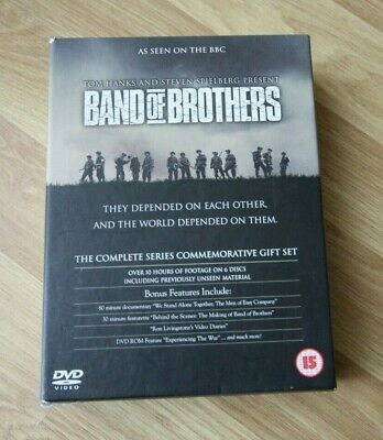 Band Of Brothers (DVD, 2002, 6-Disc Set)