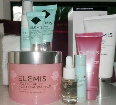 """Elemis """"Everythings Coming Up Roses"""" 10 Peice Gift Set"""