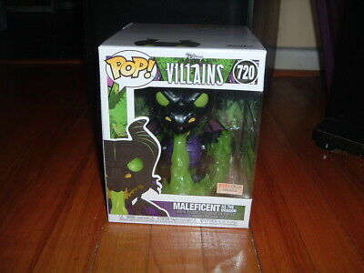 """Funko Pop! Maleficent As The Dragon #720~ Box Lunch Exclusive~ Near Mint~ 6""""~"""
