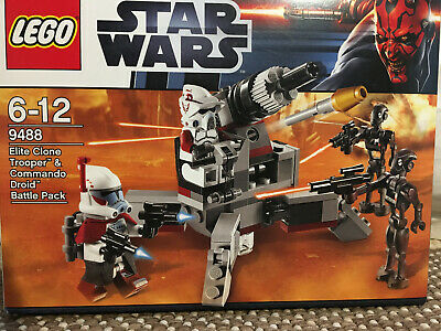 Lego Star Wars | 9488 Elite Clone Trooper Gun & Commando Droids NEUWERTIG